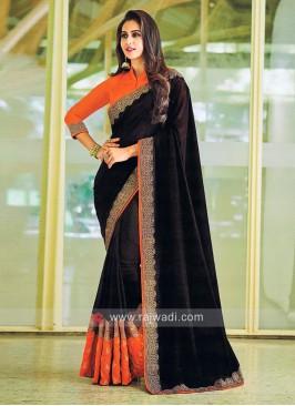 Rakul Preet Singh in Black Sari