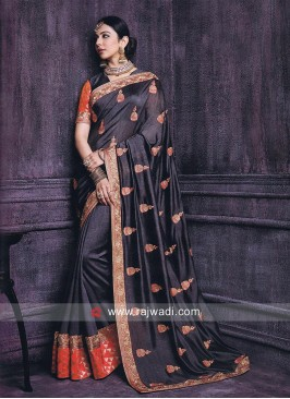 Rakul Preet Singh Resham Work Saree