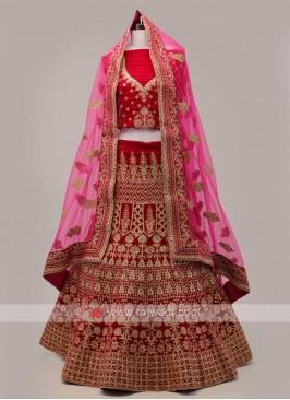 Rani Bridal Lehenga Choli