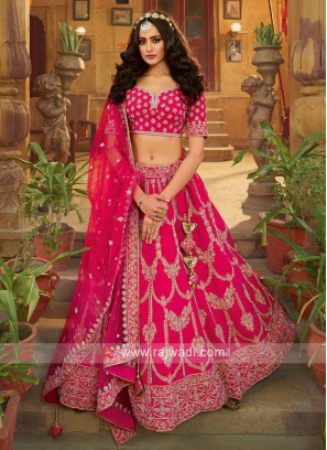 Rani Color Bridal Choli Suit
