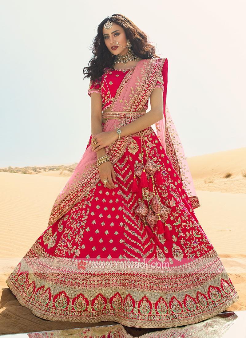 Rani Color Lehenga Choli