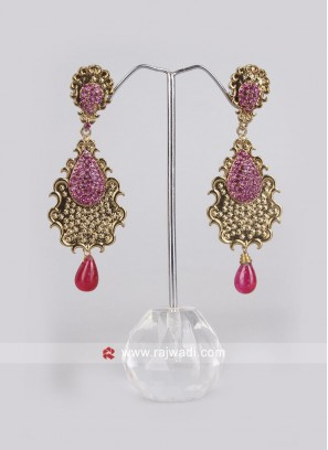 Rani Drops Crafted Earrings