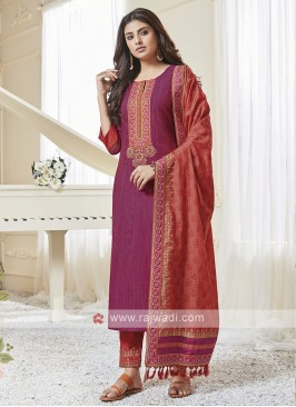 Rani & Rust Color Pant Style Suit
