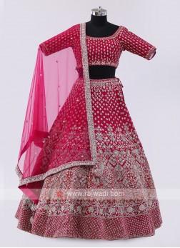 Rani Silk Choli Suit