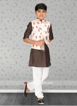 Attractive Nehru Jacket For Boys