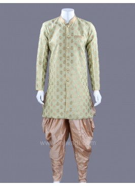 Raw Silk Fabric Patiala Suit