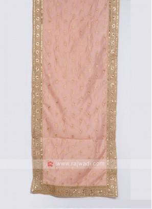 Raw Silk Groom Dupatta