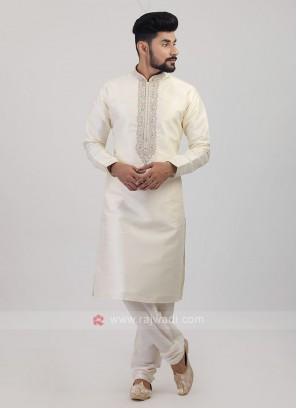 Raw Silk Kurta Pajama