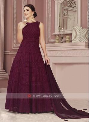 Ready Made Floor Length Anarkali Suit