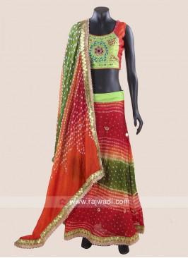 Readymade Bandhani Chaniya Choli