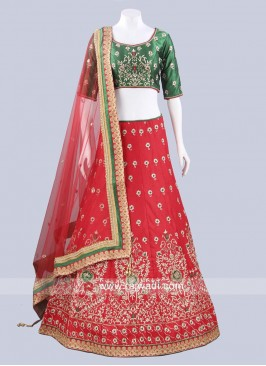 Readymade Bridal Lehenga Set