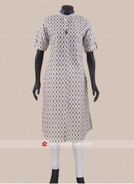 Cotton Printed Casual Tunic