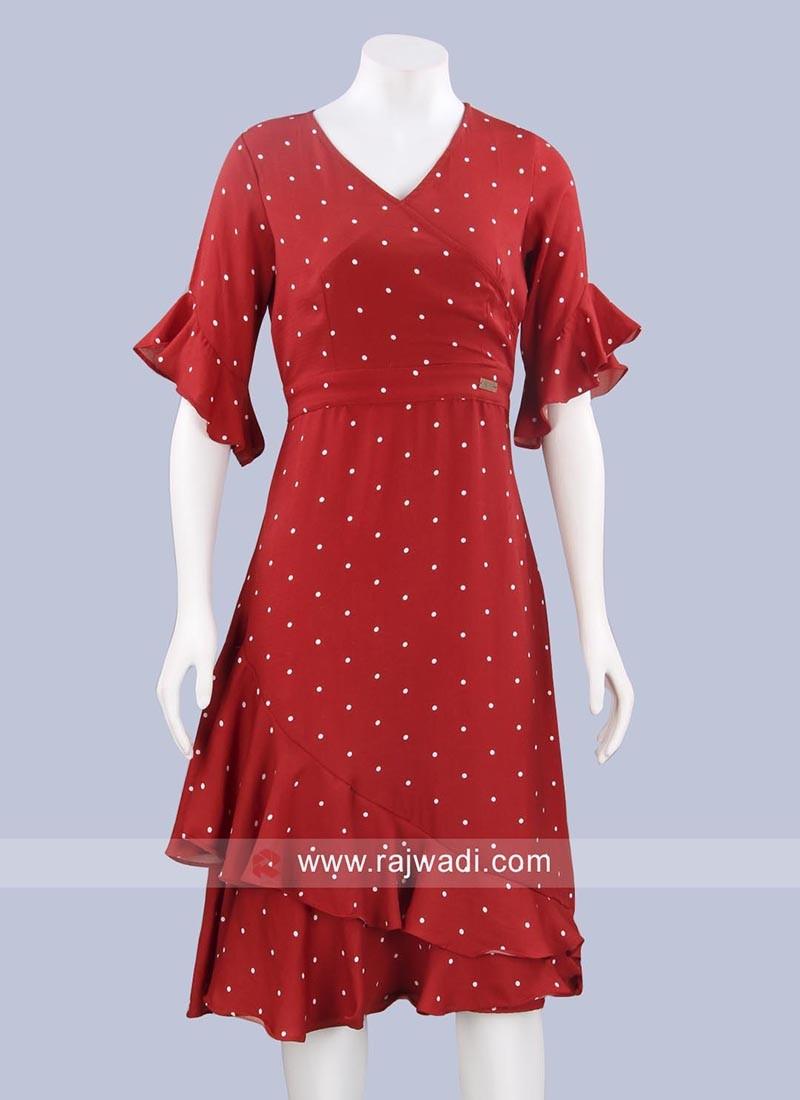 Readymade Crepe Midi dress