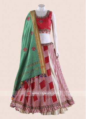 Readymade Double Layer Chaniya Choli for Navratri