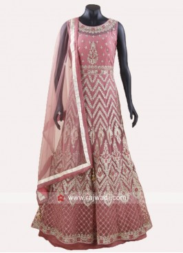 Readymade Embroidered Anarkali Suit