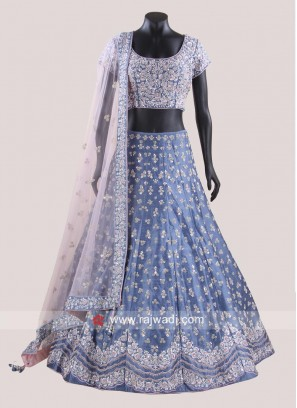 Readymade Embroidered Choli Suit