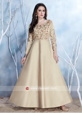 Readymade Embroidered Gown
