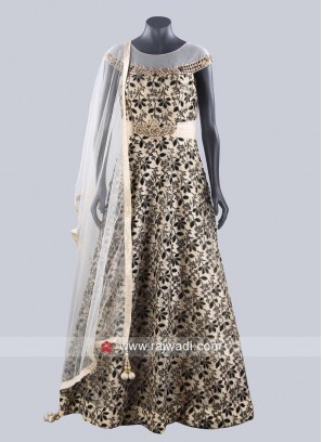 Readymade Floor Length Anarkali Dress