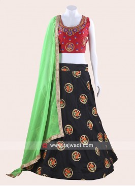 Readymade Flower Work Chaniya Choli
