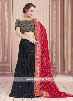Readymade Georgette Choli Suit