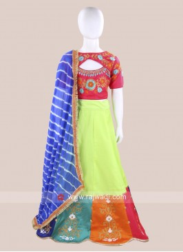 Readymade Girls Chaniya Choli for Navratri