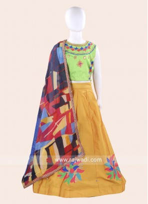 Readymade Girls Chaniya Choli with Dupatta