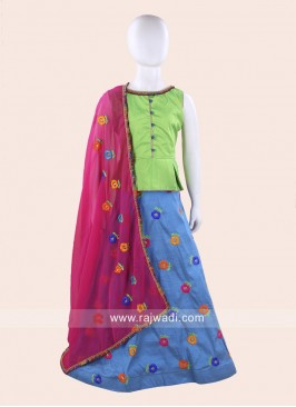 Readymade Girls Navratri Chaniya Choli
