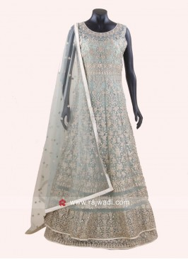 Readymade Heavy Double Layered Anarkali Suit