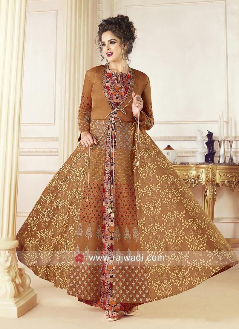 Readymade Jacket Style Gown