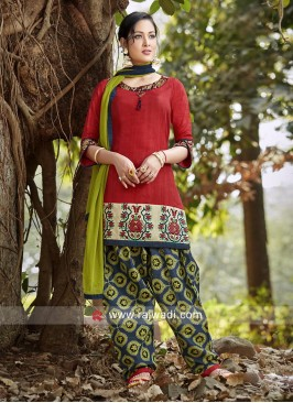 Readymade Printed Salwar Kameez