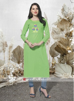 Readymade Rayon fabric Kurti