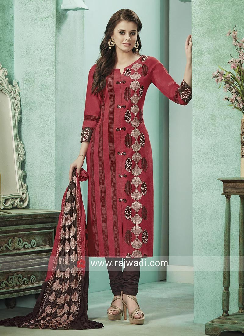 Readymade Salwar Suit with Dupatta