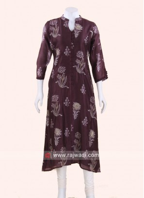 Readymade Silk Kurti