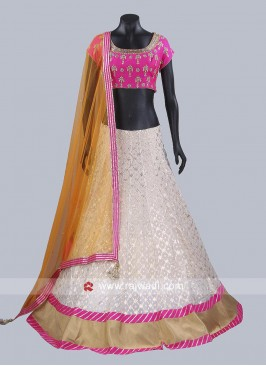 Readymade Silk Lehenga Choli