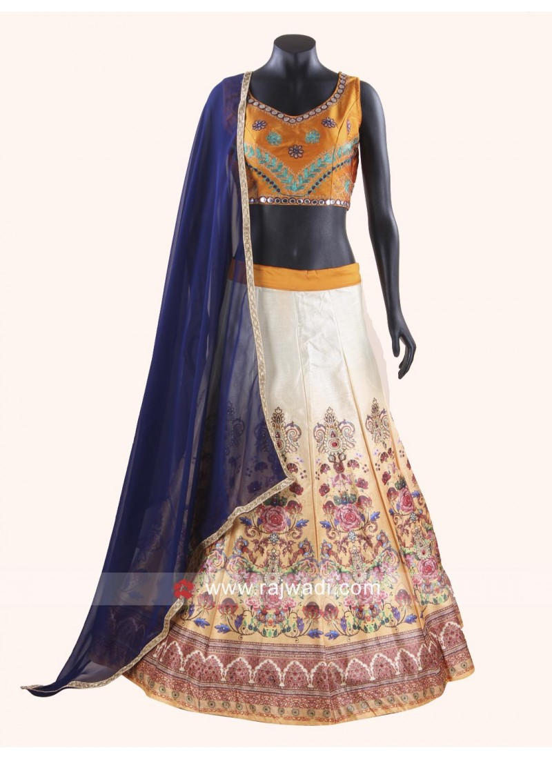 Readymade Soft silk Chaniya Choli