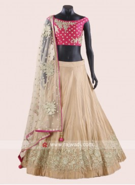 Readymade Soft Silk Lehenga