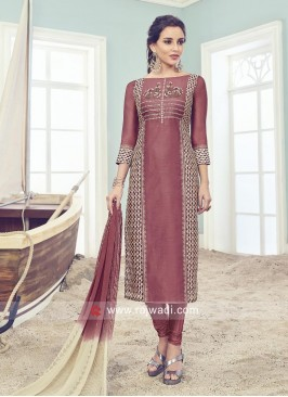 Readymade Straight Fit Salwar Kameez