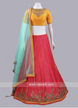 Readymade Traditional Lehenga Set