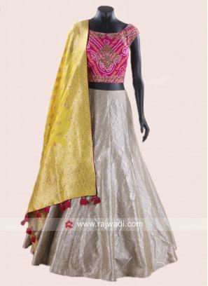 Readymade Wedding Lehenga Choli