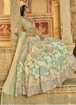 Reception Wear Bride Choli Suit