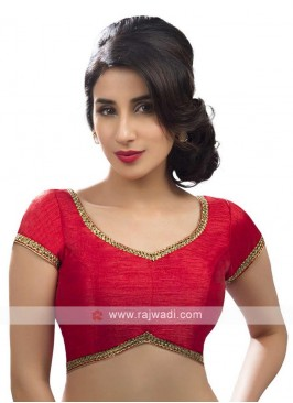 Red Color Ready Blouse