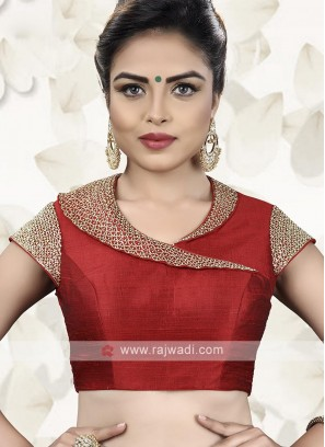 Red Color Ready Choli