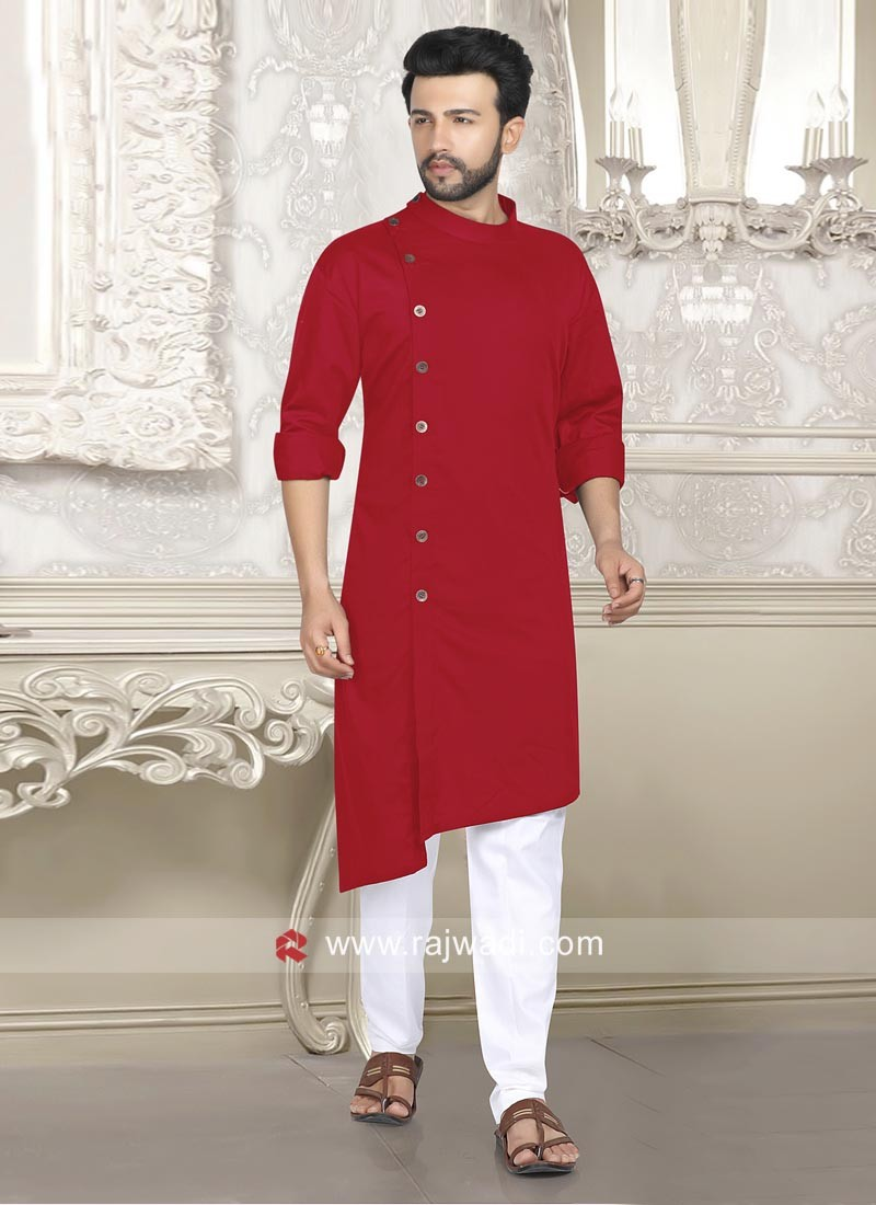 Red Pathani For Party