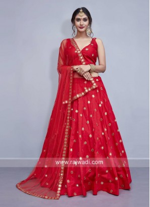 Red Wedding Lehenga Choli
