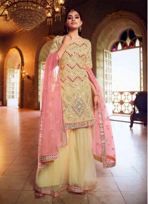 Regal Mirror Net Designer Pakistani Salwar Suit
