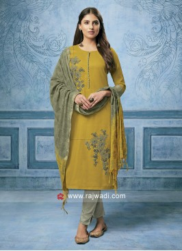 Party Wear Trouser Salwar Kameez