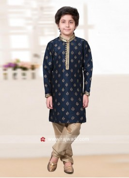 Resham and Zari Work Kurta Pajama