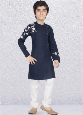 Resham Work Kurta Pajama