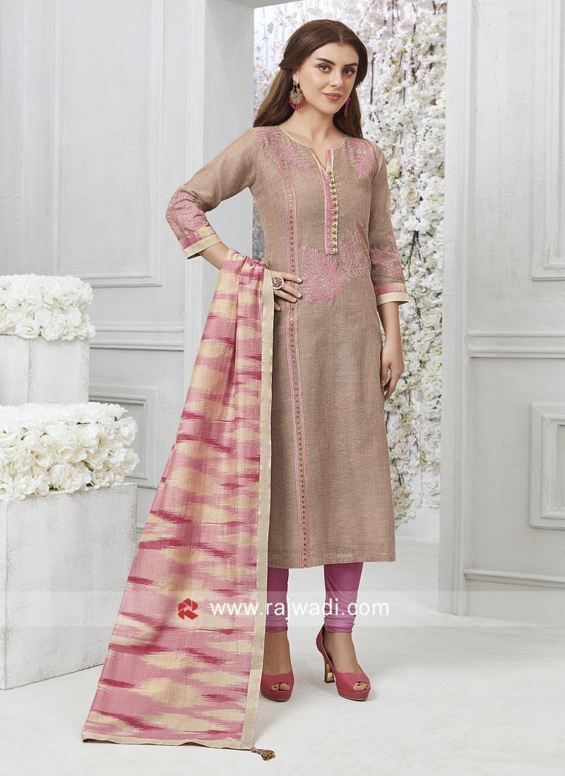 Resham Cutwork Designer Salwar Kameez