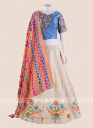 Resham Thread Work Chaniya Choli